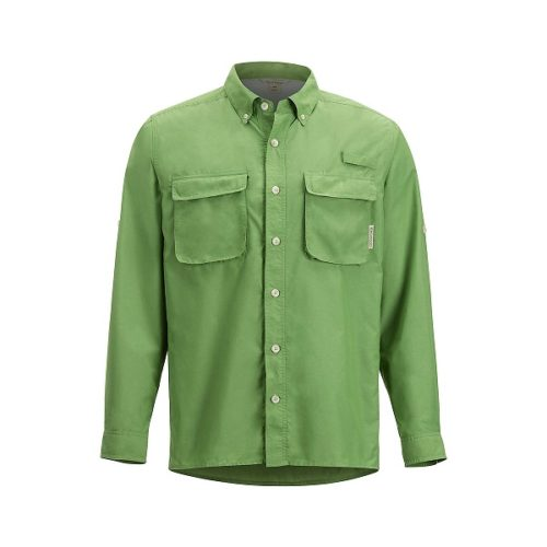 ExOfficio Men's Air Strip Long Sleeve Shirt Wheatgrass