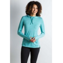 ExOfficio Women's Bugsaway Sol Cool Kaliani Hoody Saltwater Heather