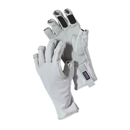 Patagonia Technical Sun Gloves Tailored Grey
