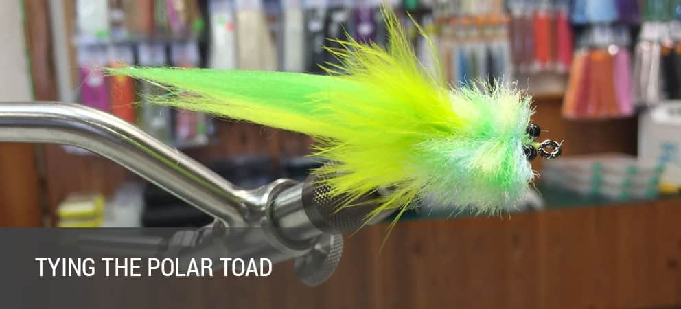 How To Tie The Polar Toad Tarpon Fly