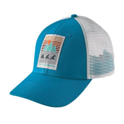 Patagonia Deep Ones LoPro Trucker Hat Grecian Blue