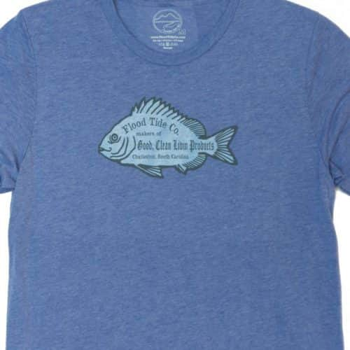 Flood Tide Co Sheepshead Products Tee Design