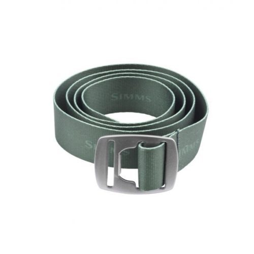 Simms Bottle Opener Belt Dark Olive