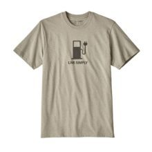 Patagonia Men's Live Simply Power Responsibili-Tee Shale