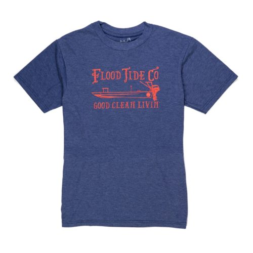 Flood Tide GCL Skiff T-Shirt Navy