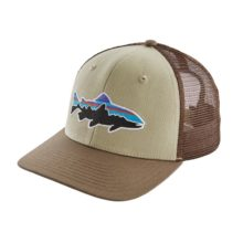 Patagonia Fitz Roy Trout Trucker Hat Weathered Stone