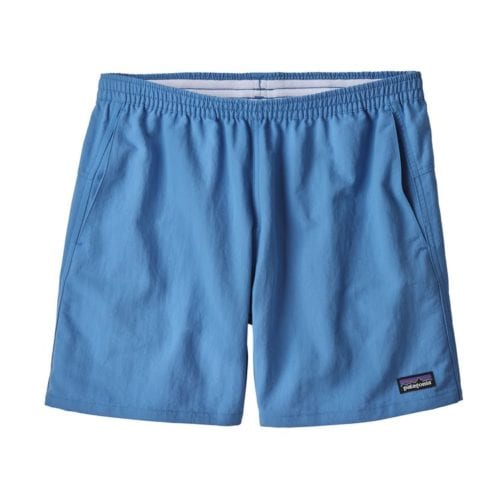 "Patagonia Women's Baggies Shorts - 5"" Port Blue"