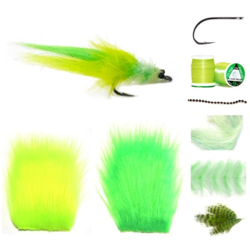 Polar Toad Materials Kit fly tying kit