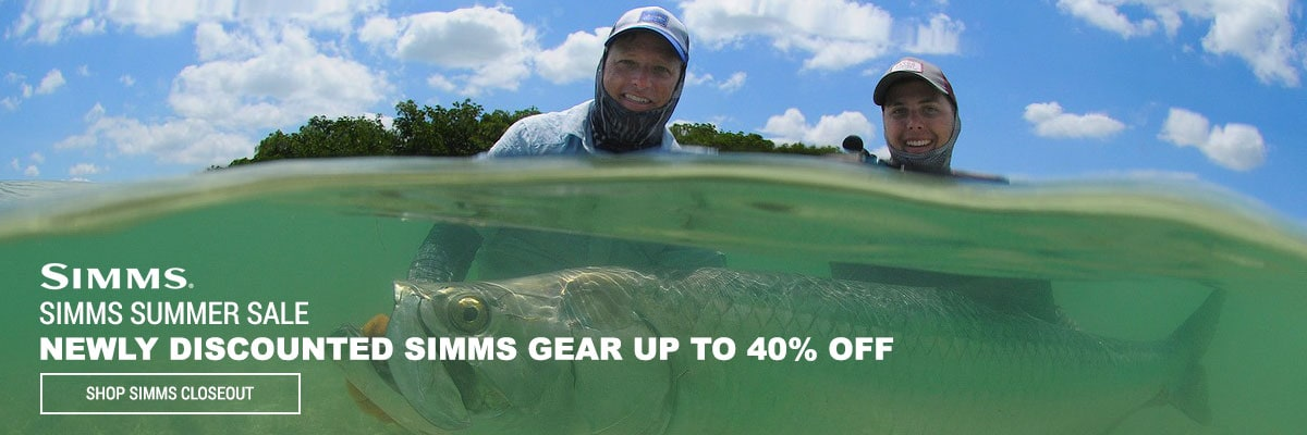 Simms Summer Sale
